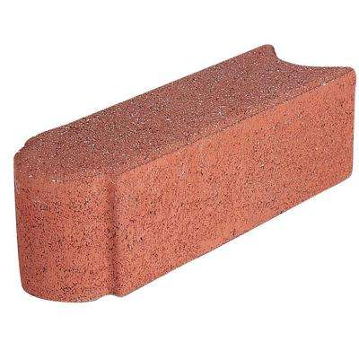 Edgerstone 12 in. x 3.5 in. x 3.5 in. River Red Concrete Edger (288-Pieces/282 lin. ft./Pallet)