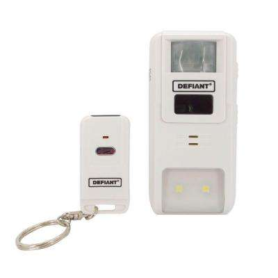 Home Security Motion-Sensing Alarm with Remote