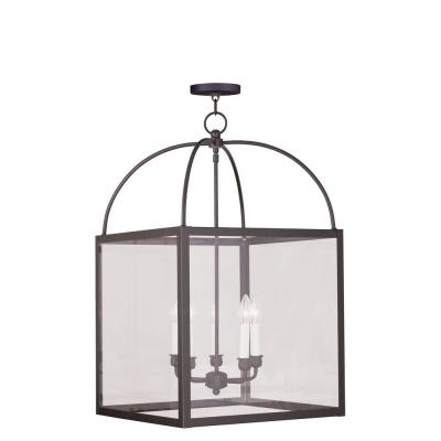 Providence 5-Light Bronze Incandescent Ceiling Pendant