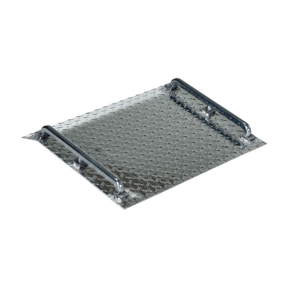 500 lb. Capacity Aluminum Tread Plate Mini Dockboard