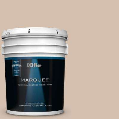 5 gal. #MQ2-36 Elusive Dawn Satin Enamel Exterior Paint and Primer in One