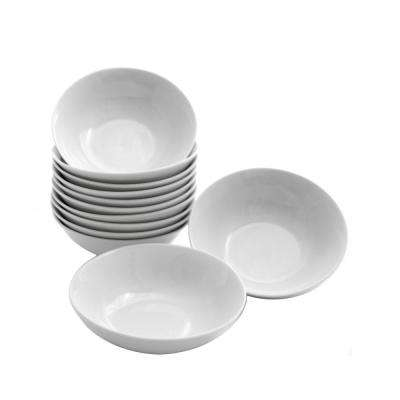 12 oz. White Catering Pack Coupe Cereal Bowls (Set of 12)