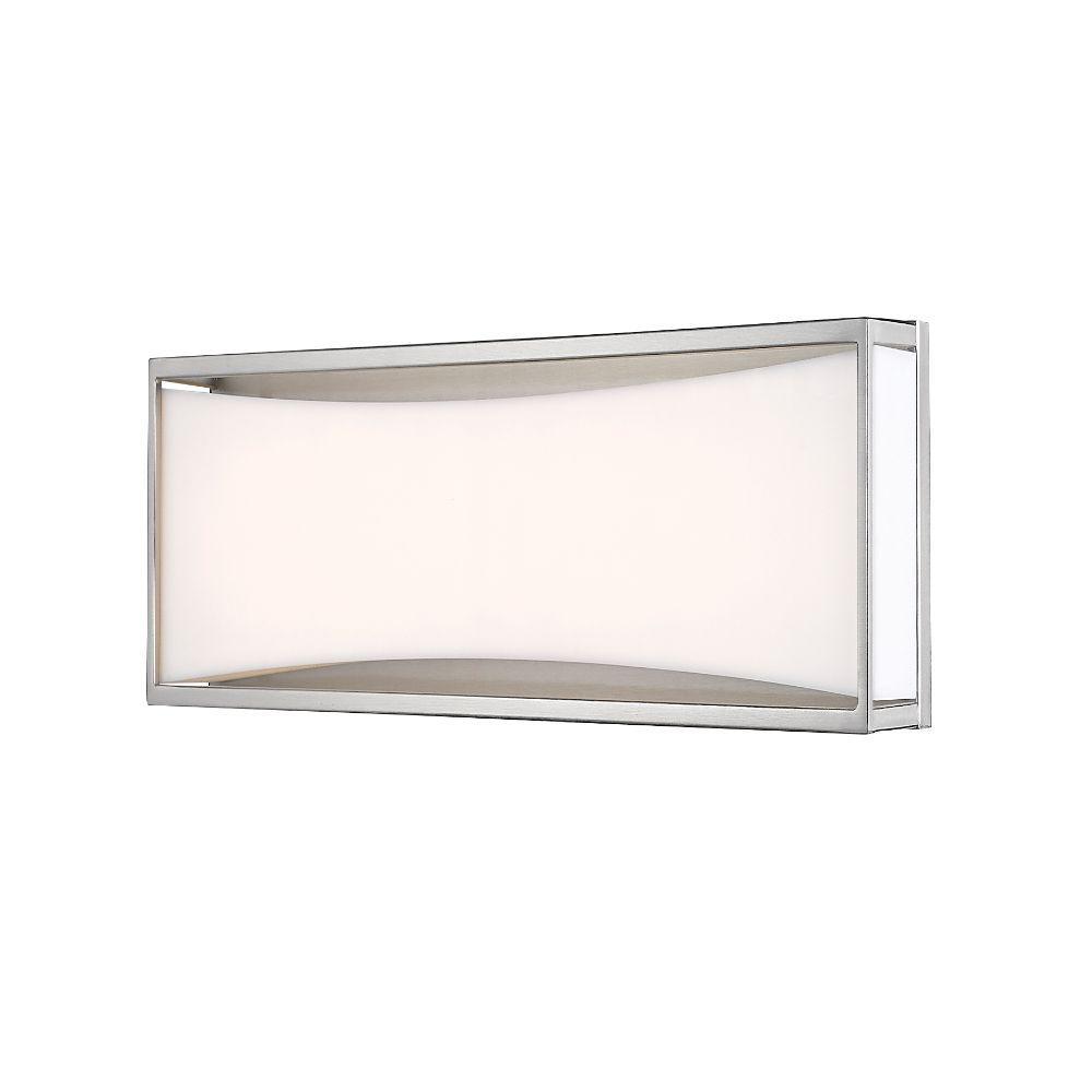 12-Watt Brushed Nickel Integrated LED Vanity Light Bar
