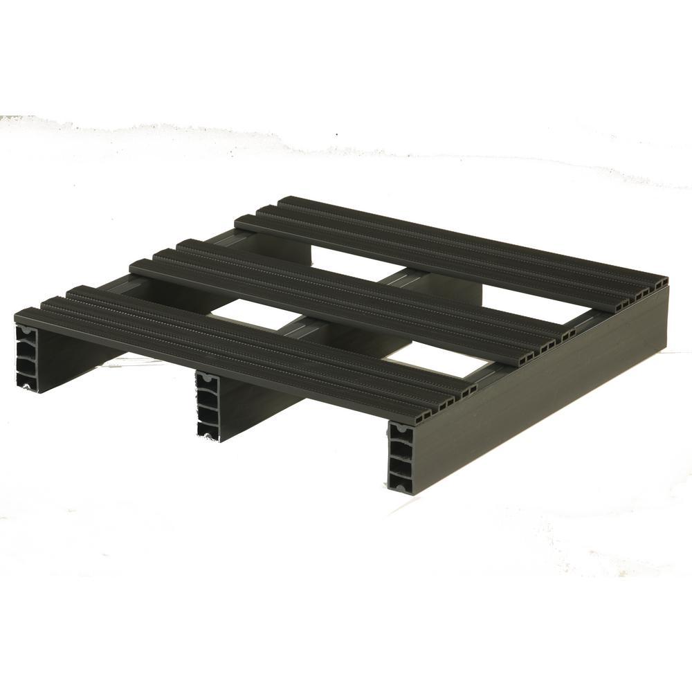 Jifram Custom Built Plastic Pallets 24 in. x 24 in. Storage Pad