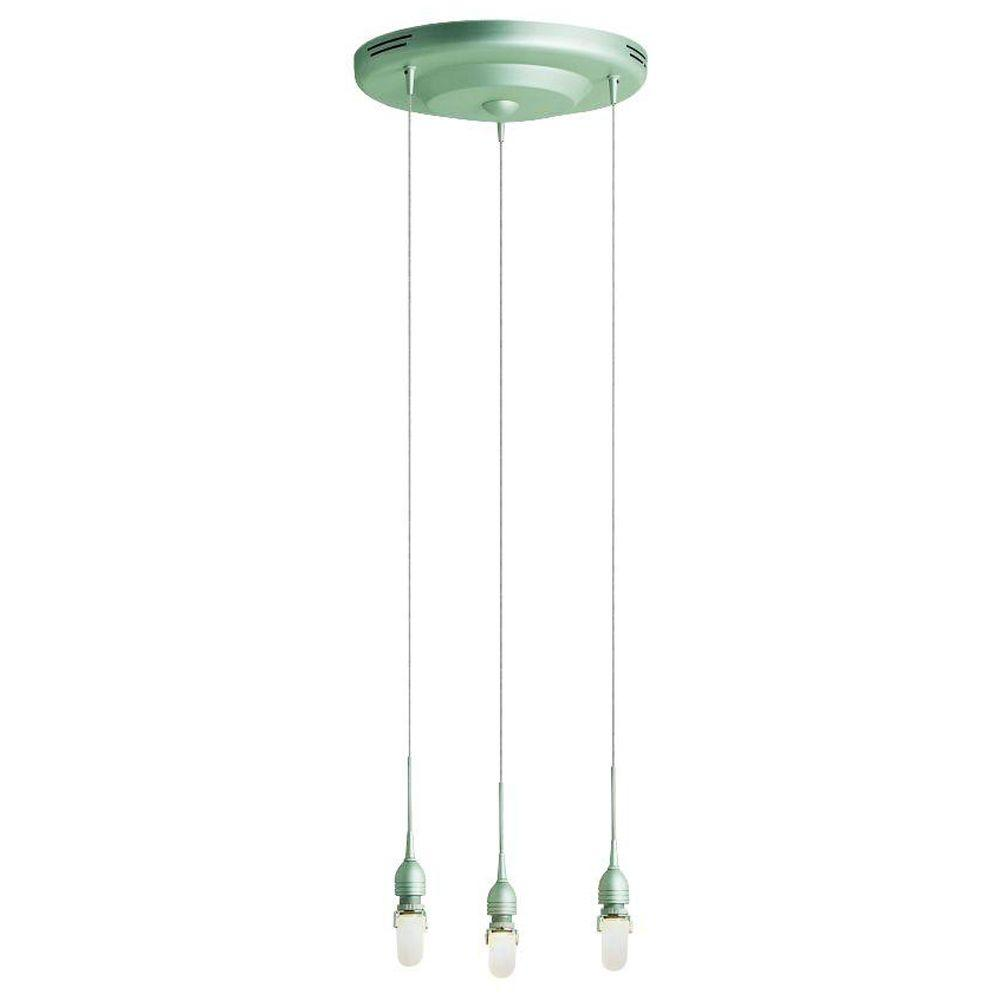 null Neo Collection 3-Light Metal Gold Hanging/Ceiling Pendant