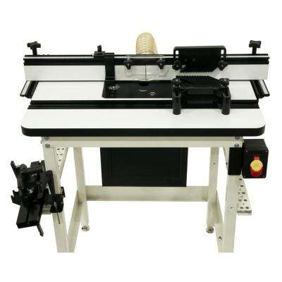 Router table router parts accessories woodworking tool router lift with mdf table kit greentooth Choice Image
