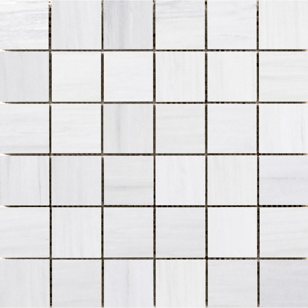 Latitude White 11.73 in. x 11.73 in. x 10 mm Porcelain