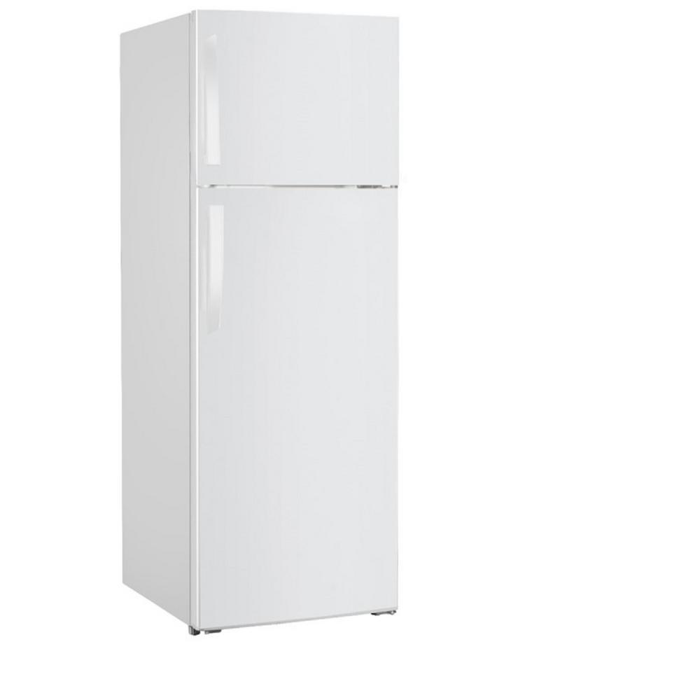 PREMIUM 12 cu. ft. Frost Free Top Freezer Refrigerator in White