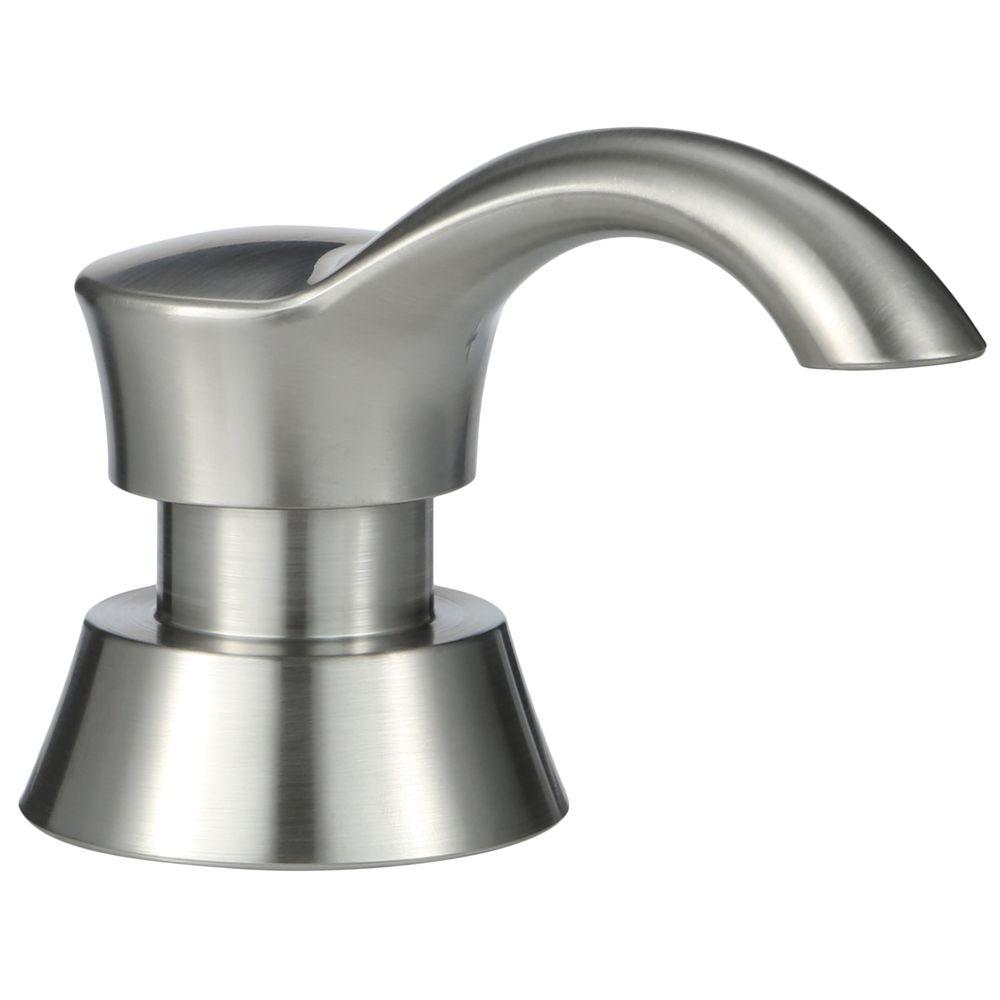 Delta Kitchen Soap Dispenser Brushed Nickel Automatic Soap Dispenser