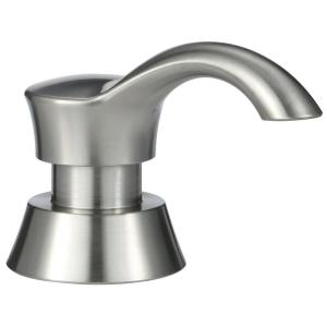 Delta Pilar Accessory Soap Dispenser in Stainless by Delta