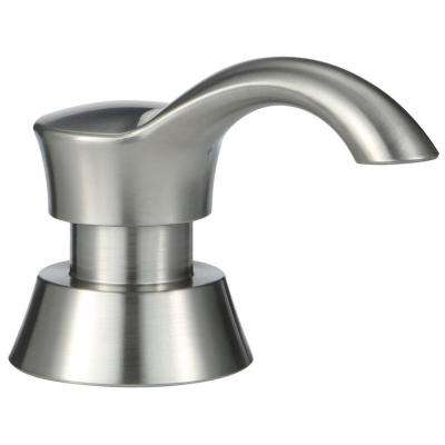 Pilar Accessory Soap Dispenser in Stainless