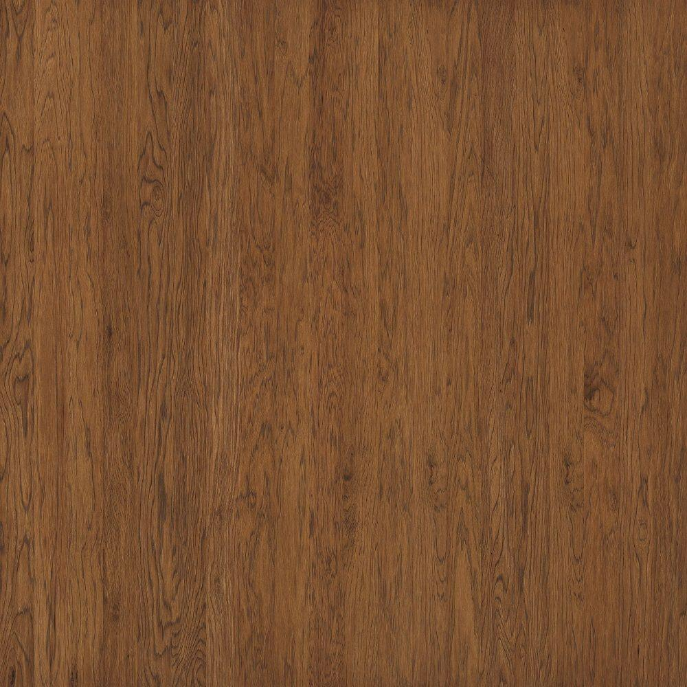 Shaw Take Home Sample - Subtle Scraped Ranch House Plantation Hickory Engineered Hardwood Flooring - 5 in. x 7 in.