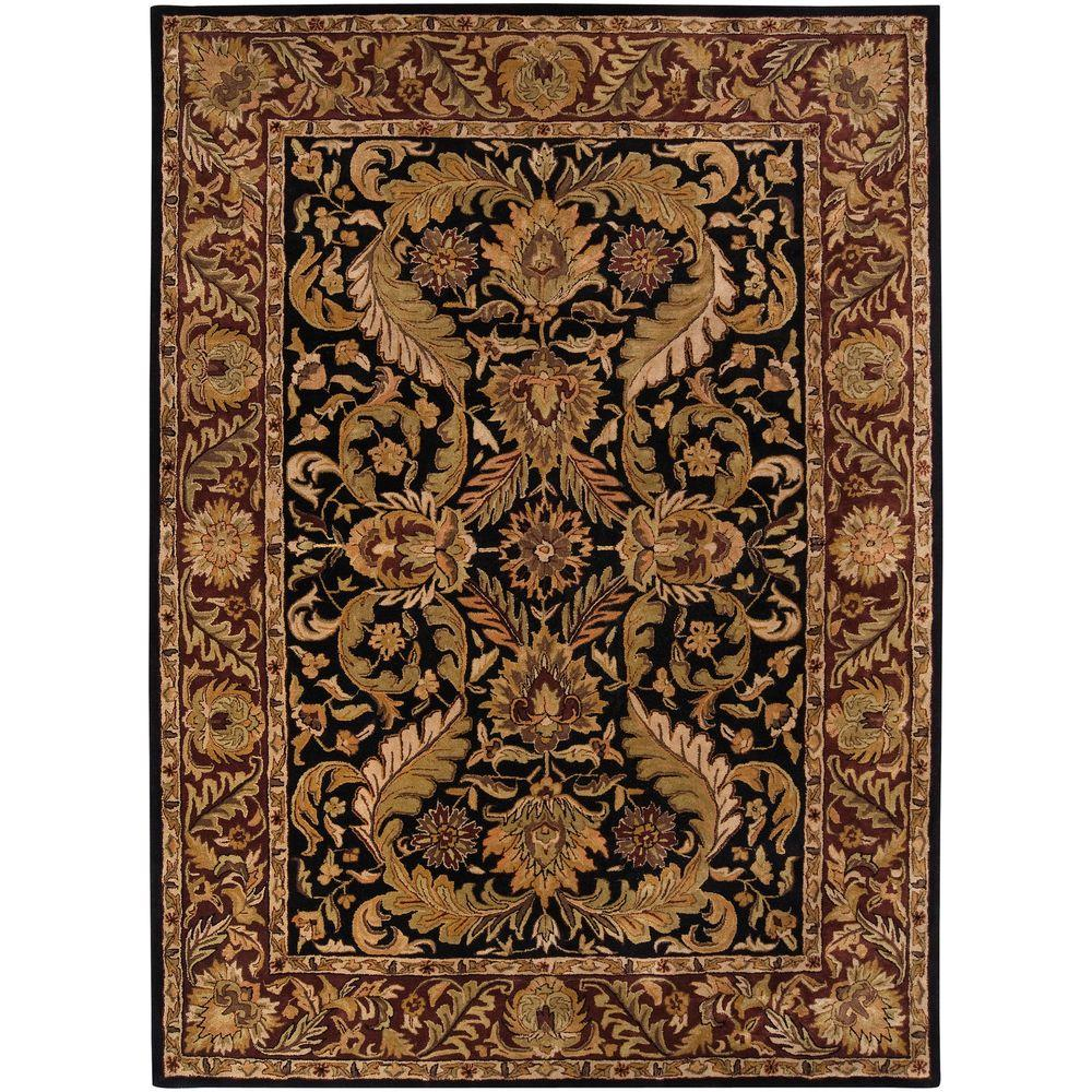 Ainsworth Black 3 ft. 3 in. x 5 ft. 3 in.