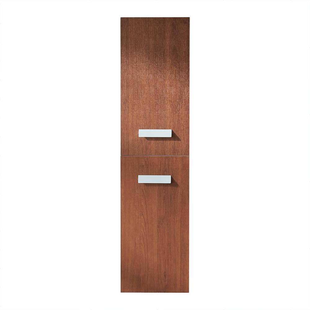 Versalles 12 in. Wall Cabinet in Natural Wood Laminate PVC