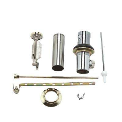 Lavatory Brass Drain Assembly in Chrome