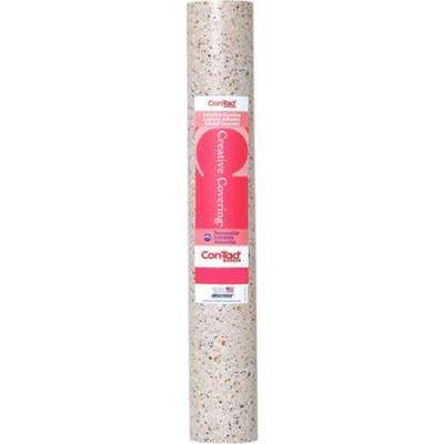 Creative Covering 18 in. x 20 ft. Granite Rose Self-Adhesive Vinyl Drawer and Shelf Liner (6 rolls)