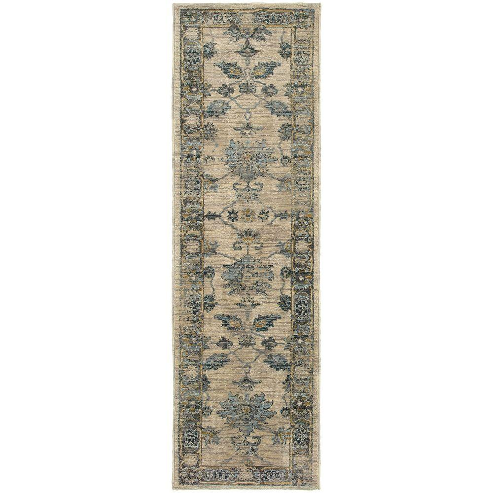 Chandler Beige 2 ft. 3 in. x 7 ft. 6 in.