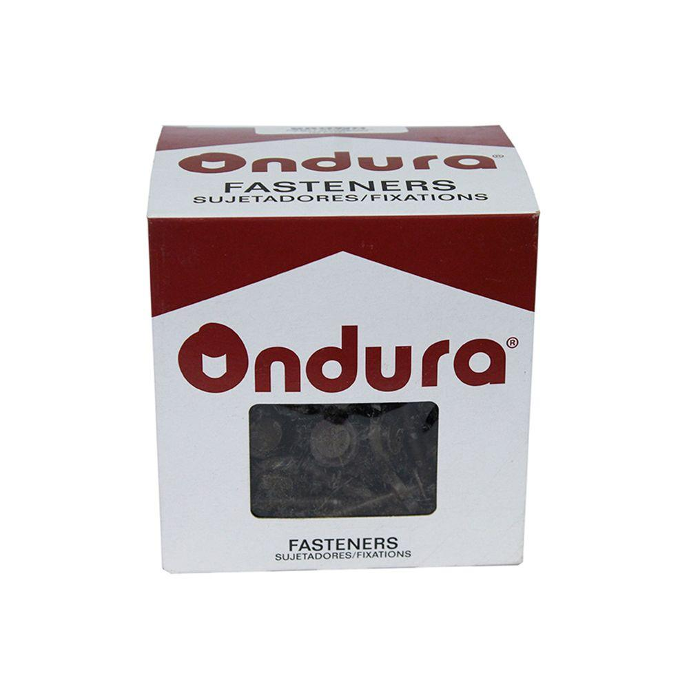 Ondura 3 In Brown Nails With Washers 100 Per Box 3208