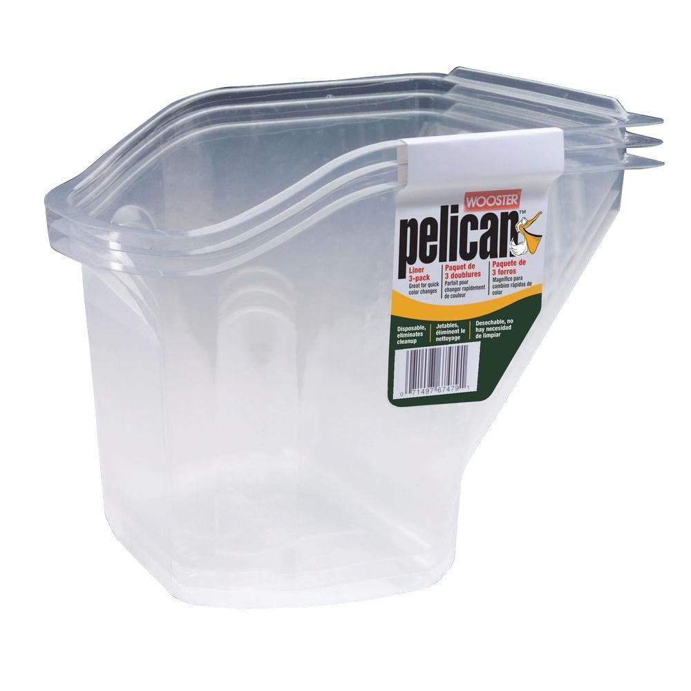 1 qt. Pelican Pail Liner (3-Pack)