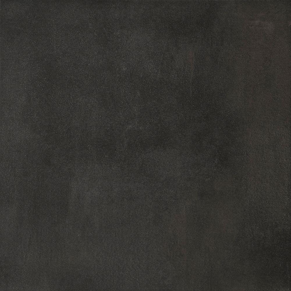 Emser Cosmopolitan Charcoal 18 in. x 18 in. Porcelain Floor and Wall Tile (15.26 sq. ft. / case)