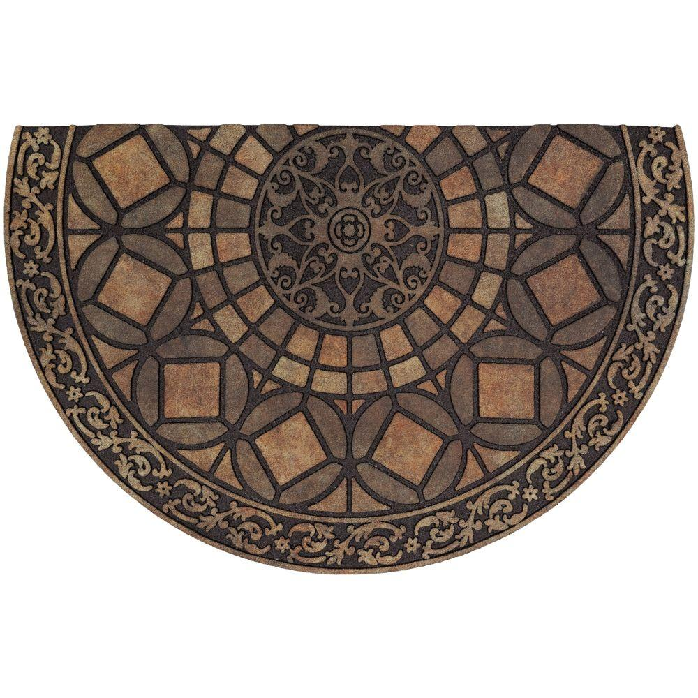 TrafficMASTER Gothic Iron Brown 23 in. x 35 in. Door Mat