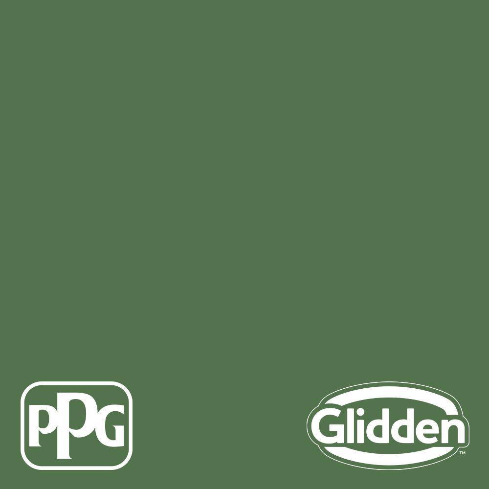 Glidden Essentials 5 Gal Ppg1131 7 Clover Leaf Flat Exterior Paint Ppg1131 7ex 05f The Home Depot