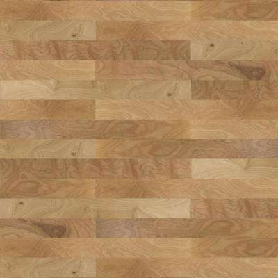Birch Natural 3/8 in. Thick x 4-1/4 in. Wide x Random Length Engineered Click Hardwood Flooring (20 sq. ft. / case)