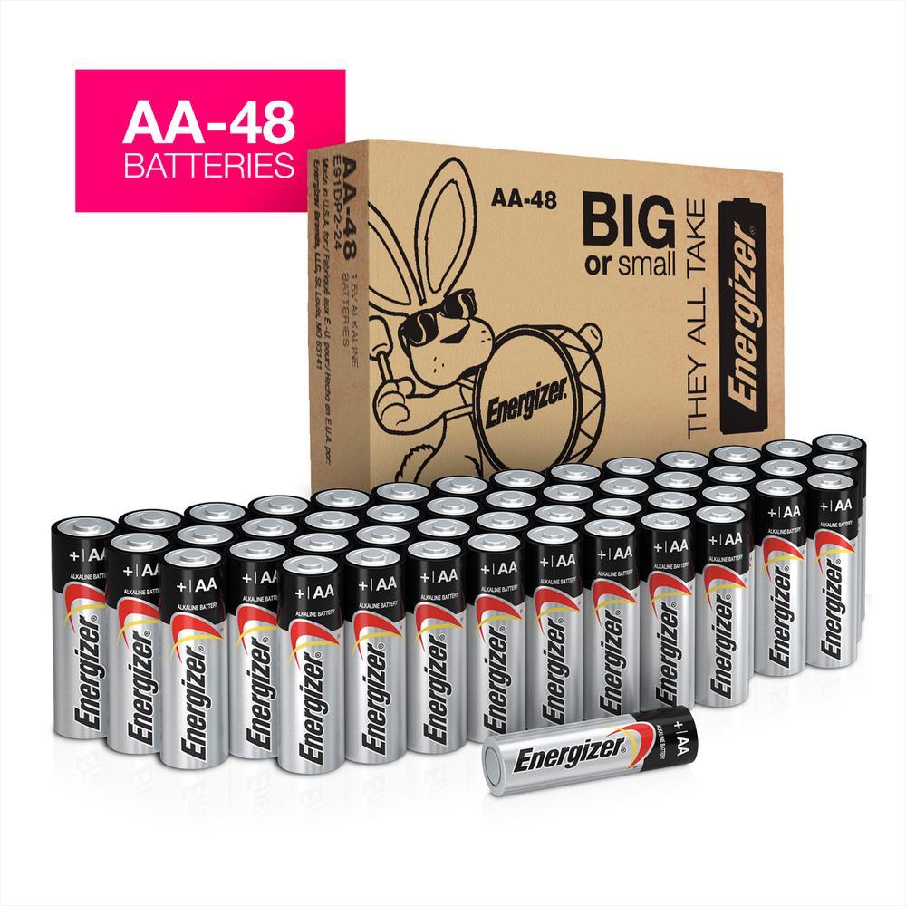 beste prijs info voor super populair Energizer MAX Alkaline AA Energizer Battery (48-Count)