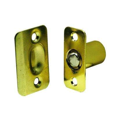 2-1/4 in. Polished Brass Cabinet Ball Catch