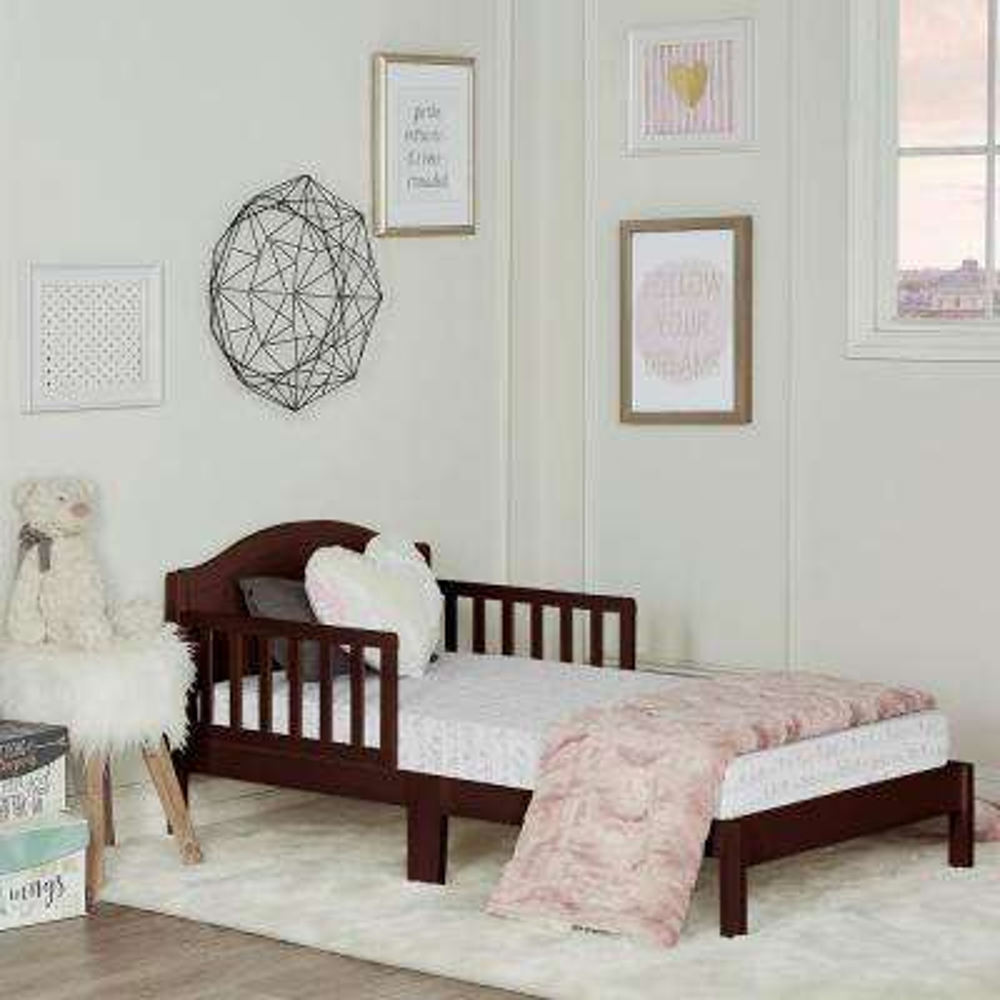 Sydney Espresso Toddler Adjustable Toddler Bed