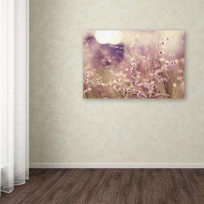 """30 in. x 47 in. """"Afternoon Tales"""" by Beata Czyzowska Young Printed Canvas Wall Art"""