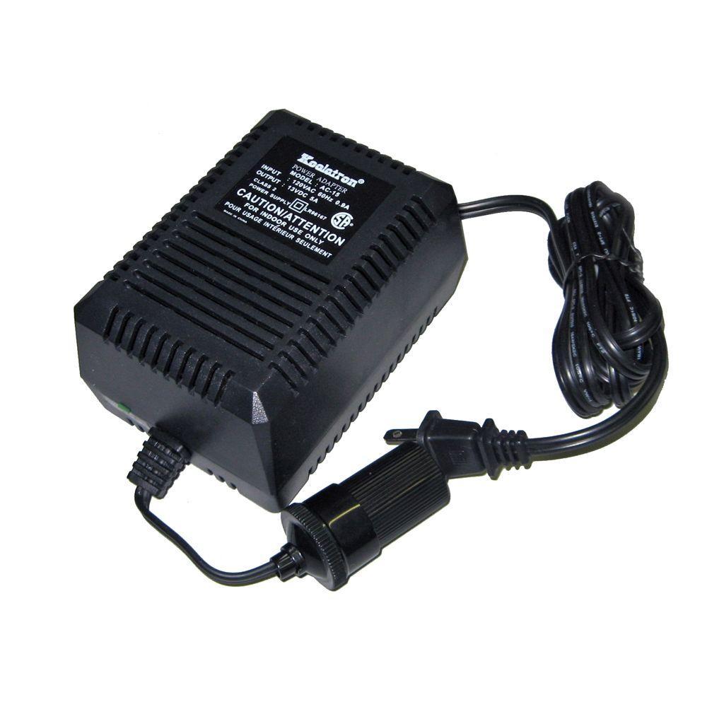 Koolatron Ac Power Adaptor Ac15 The Home Depot Wiring Dc Plug