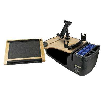 Reach Desk Back Seat Elite with Built-in Power Inverter, iPad/Tablet Mount and Printer Stand