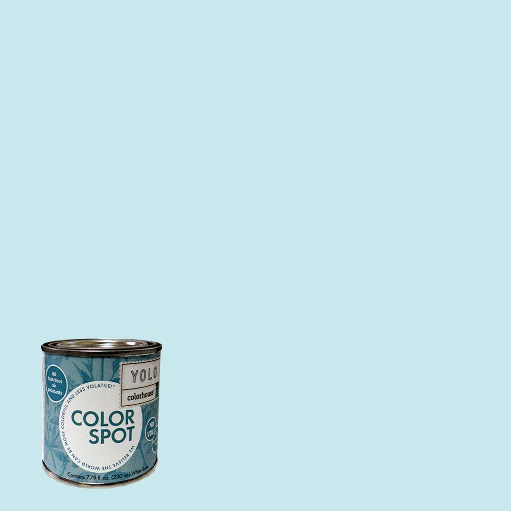 YOLO Colorhouse 8 oz. Dream .01 ColorSpot Eggshell Interior Paint Sample-DISCONTINUED