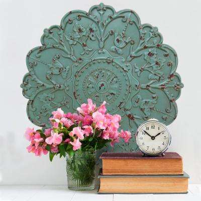 Shabby Medallion Decorative Mirror Wall Decor