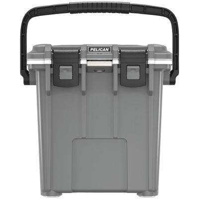 20 Qt. Elite Cooler in Gray/White
