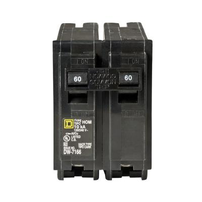 Homeline 60 Amp 2-Pole Circuit Breaker