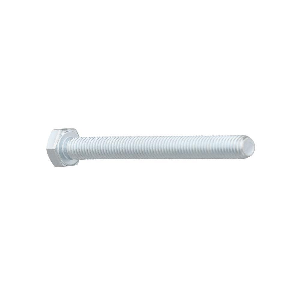 Length: 45mm Metric Thread Size: M8 Metric Zinc Plating Steel Metric Class 8.8 M8-1.25 x 45mm Hex Head Cap Screws - Coarse Thread Metric Quantity: 100 pcs Fully Threaded