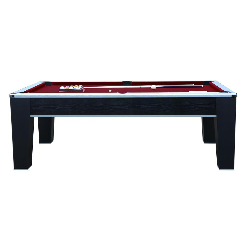 Mirage 7.5 ft. Pool Table in Black