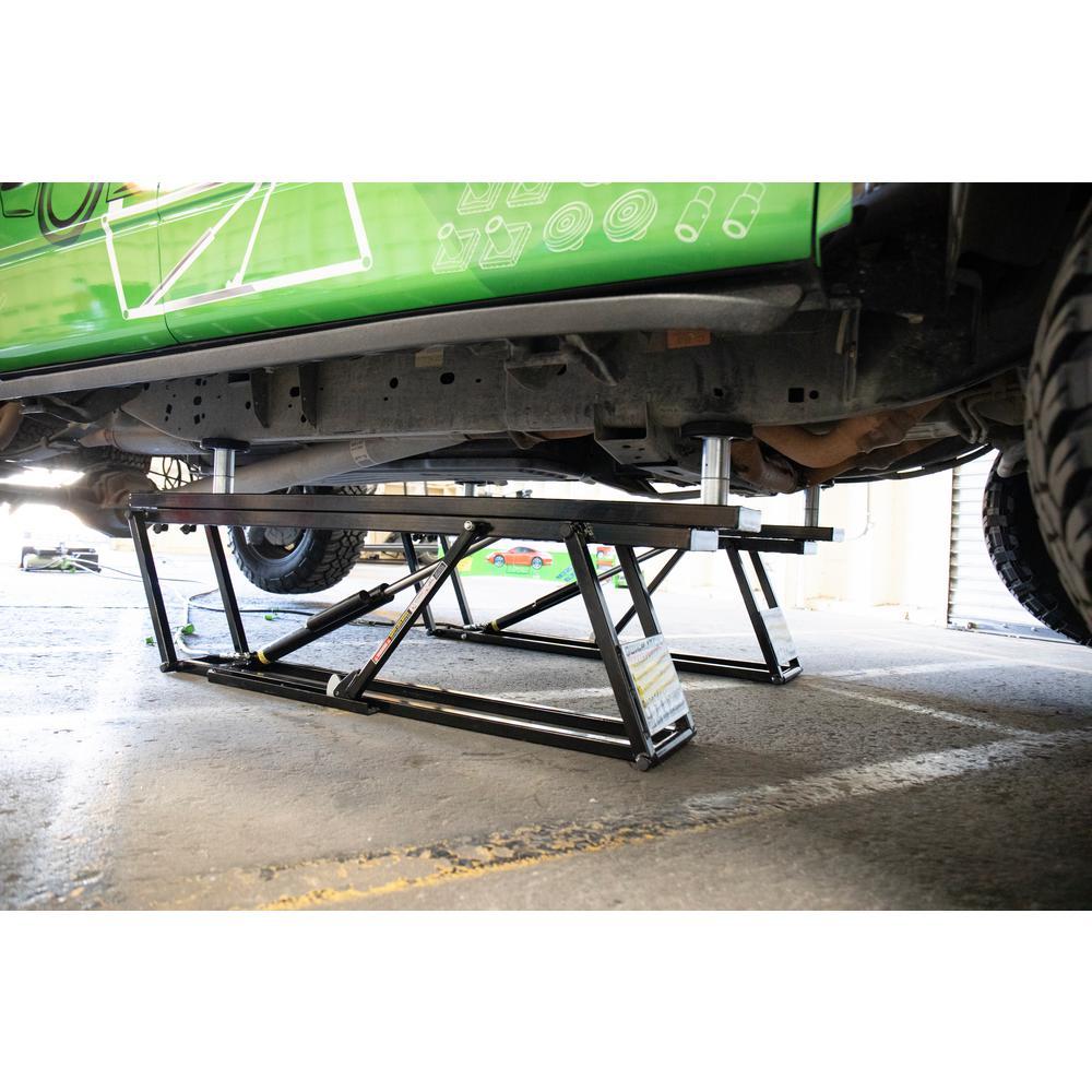 Dannmar MaxJax 6,000 lb  2-Post Portable Car Lift-DMJ-6