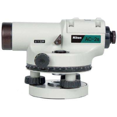 8 in. AC-2S 24X Magnification Self-Leveling 360-Degree Automatic Optical Level