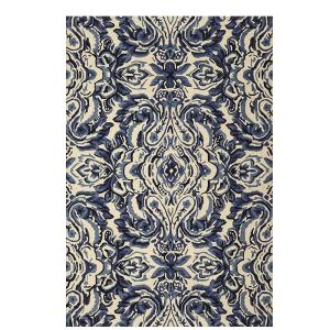 Home Decorators Collection Castillo Blue 8 ft x 11 ft Area Rug