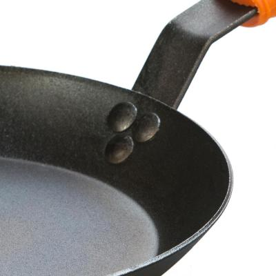10 in. Carbon Steel Skillet with Hot Handle Holder