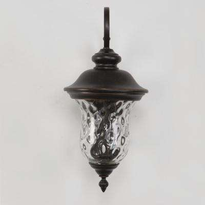 Sugar Pine Collection 2-Light Oil-Rubbed Bronze Outdoor Wall Mount Lamp