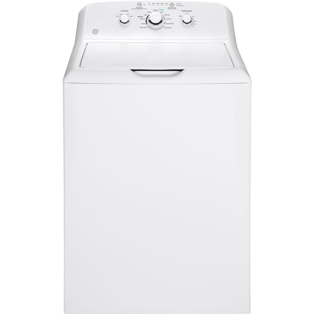 GE 3.8 cu. ft. White Top Load Washing Machine