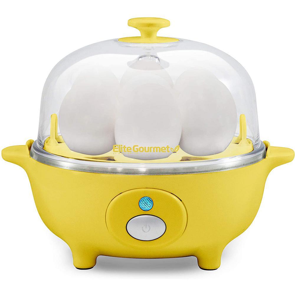 7-Eggs Yellow Easy Egg Cooker