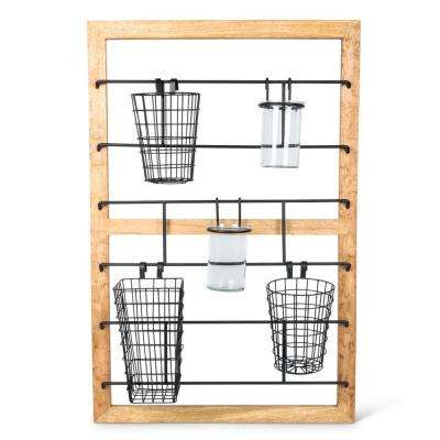 38 in. H Hanging Storage Unit