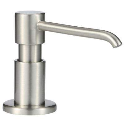 Parma Deck Mounted Soap and Lotion Dispenser in Stainless Steel