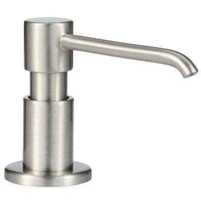parma deck mounted soap and lotion dispenser