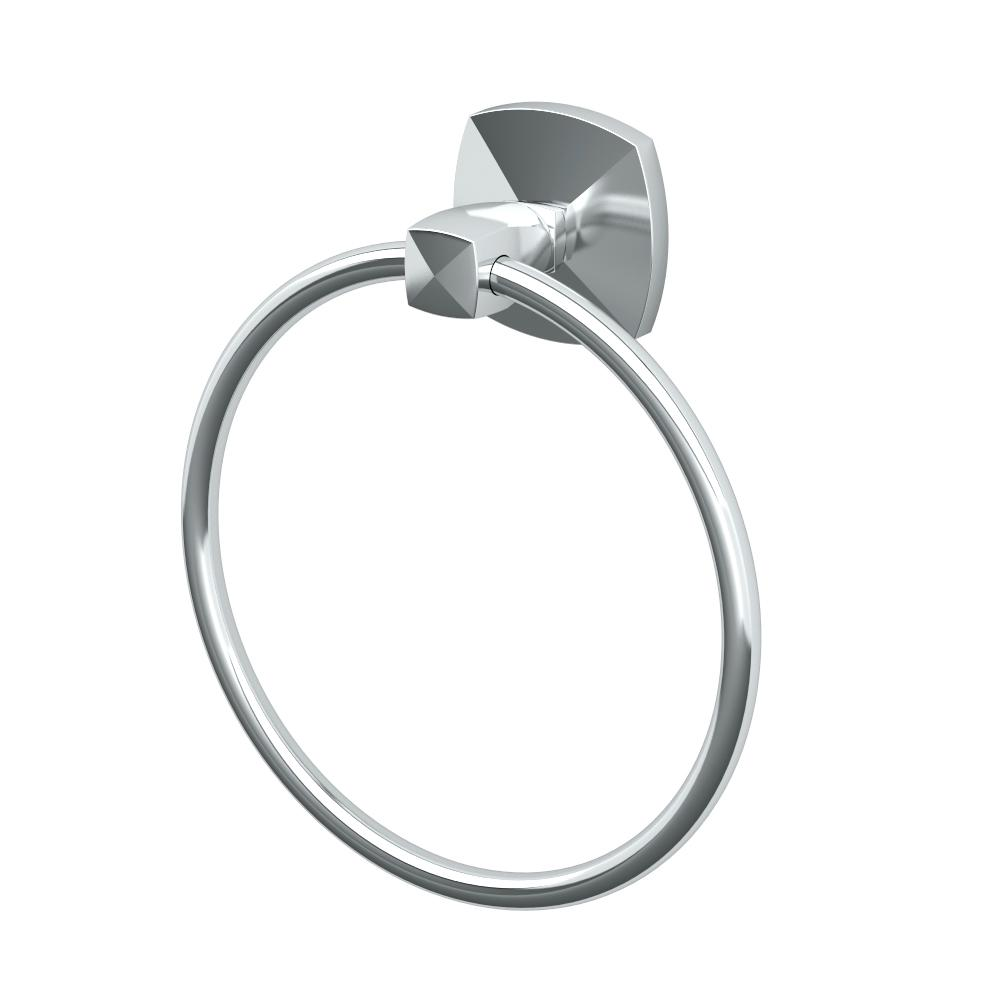 Jewel Towel Ring in Chrome